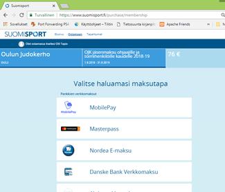 6/7: Jäsenmaksun valinnan jälkeen voit maksaa Jäsenmaksun verkkopankissa tai korttimaksuna. Maksusivun alalaidasta löytyy myös...
